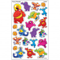 T-46321 - Furry Friends Supershapes Stickers Large in Stickers