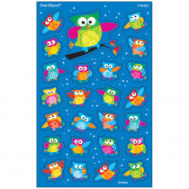 T-46322 - Owl Stars Supershapes Stickers Large in Stickers