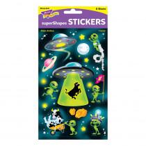 Alien Antics Large superShapes Stickers, 80 ct. - T-46358 | Trend Enterprises Inc. | Stickers