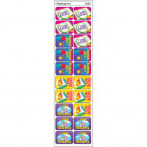 T-47084 - Applause Stickers Reading Fun 100Pk Acid-Free in Language Arts