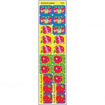 T-47130 - Applause Stickers Awesome 100/Pk Apples Acid-Free in Stickers
