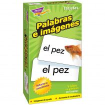 T-53006 - Flash Cards Palabras E 96/Box Imagenes in Flash Cards