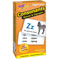 T-53009 - Flash Cards Consonants 72/Box in Phonics