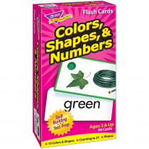 T-53011 - Flash Cards Colors Shapes 96/Box Numbers in Sorting