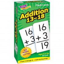 T-53102 - Flash Cards Addition 13-18 99/Box in Flash Cards