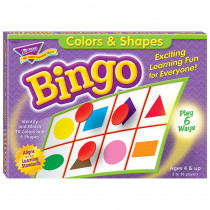 T-6061 - Bingo Colors & Shapes Ages 4 & Up in Bingo