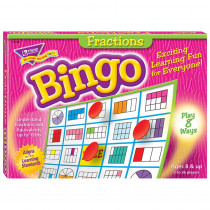 T-6136 - Bingo Fractions Ages 10 & Up in Bingo