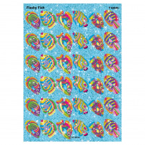 T-63046 - Sparkle Stickers Flashy Fish in Stickers