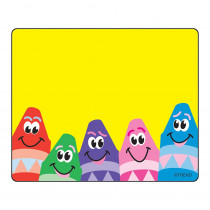 T-68013 - Name Tags Colorful Crayons 36/Pk in Name Tags