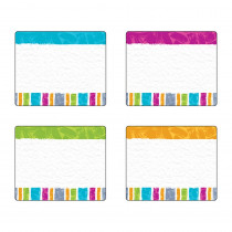 T-68912 - Color Harmony Stripes Terrfc Labels Variety Pk in Name Tags