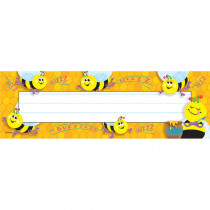 Busy Bees Desk Toppers Name Plates, 36 ct - T-69014 | Trend Enterprises Inc. | Name Plates