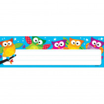 T-69217 - Owl Stars Desk Toppers Name Plates in Name Plates