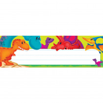 T-69240 - Dino-Mite Pals Desk Toppers Name Plates in Name Plates