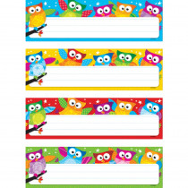 T-69910 - Owl Stars Desk Toppers Name Plates Variety Pack in Name Plates