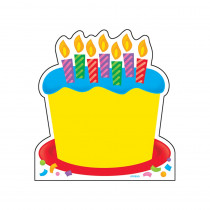 T-72032 - Note Pad Birthday Cake 50 Sht 5X5 Acid-Free in Note Pads