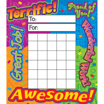 T-73003 - Incentive Pad Reward Words in Postcards & Pads