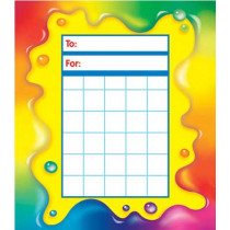 T-73023 - Rainbow Gel Incentive Pads in Postcards & Pads