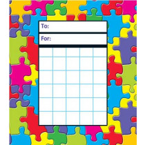T-73024 - Jigsaw Incentive Pads in Postcards & Pads