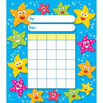 T-73026 - Dancing Stars Incentive Pad in Incentive Charts