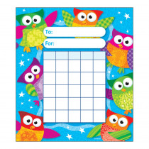 T-73034 - Owl Stars Incentive Pad in Incentive Charts