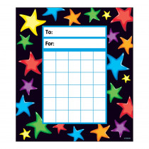 T-73052 - Gel Stars Incentive Pads in Postcards & Pads