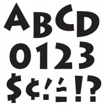 T-79201 - Black 4 Inventure Ready Letters in Letters
