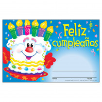 T-81036 - Awards Feliz Cumpleanos Pastel Spanish Happy Birthday Cake in Foreign Language