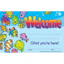 T-8109 - Awards Welcome 30/Pk 5 X 8 in Awards