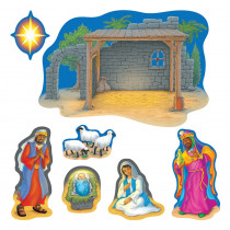 T-8125 - Bulletin Board Set Nativity in Inspirational