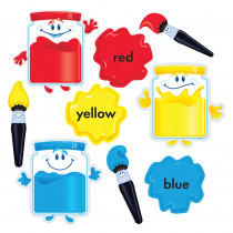 T-8268 - Colortime Paints Bulletin Board Set in Miscellaneous