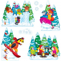 T-8286 - Wonderful Winter Bulletin Board Set in Holiday/seasonal