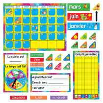 T-8292 - Calendrier Annuel Bulletin Board Set in Social Studies