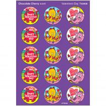 T-83406 - Stinky Stickers Valentines 60/Pk Day Chocolate Cherry Acid-Free in Holiday/seasonal