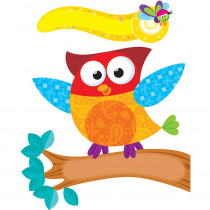 T-8765 - Owl Stars Mini Bulletin Board Set in Classroom Theme