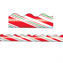 T-92011 - Trimmer Candy Cane Stripes in Border/trimmer