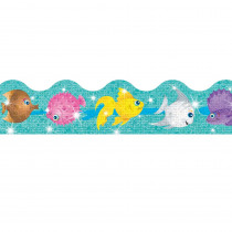 T-92408 - Trimmer Sparkle Fish in Border/trimmer