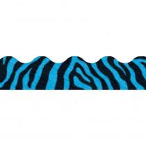 T-92850 - Zebra Blue Terrific Trimmers in Border/trimmer