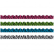 T-92927 - Zebra Stripes Border Variety Pack in Border/trimmer
