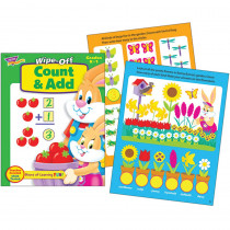 T-94216 - Count & Add 28Pg Wipe-Off Books in Language Arts