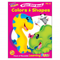 T-94304 - Colors & Shapes 28Pg Wipe-Off Books in Language Arts