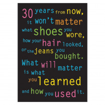 T-A62882 - Poster 30 Years From Now 13 X 19 Large in Motivational