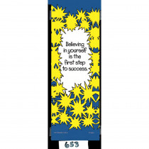 T-A653 - Bookmark Believing In Yourself Is in Motivational