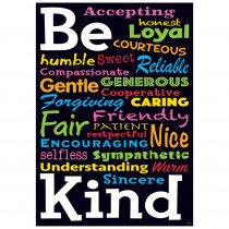 T-A67066 - Be Kind Argus Poster in Motivational