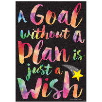 T-A67077 - A Goal Without A Plan Argus Poster in Motivational
