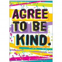 T-A67079 - Agree To Be Kind Argus Poster in Motivational