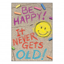 T-A67088 - Be Happy It Never Gets Old Poster in Motivational