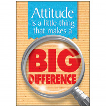 T-A67106 - Poster Attitude Is A Little Thing in Motivational