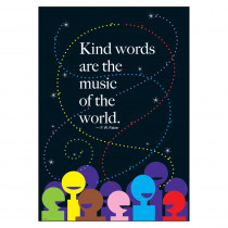 T-A67261 - Kind Words Are The Music Lp Large Posters in Motivational