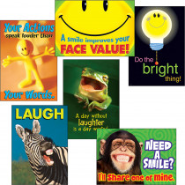 T-A67920 - Attitude & Smiles Combo Sets Argus Posters in Motivational