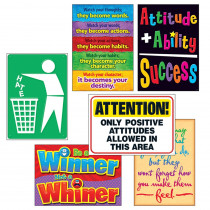 T-A67924 - Attitude Matters Posters Combo Pack in Motivational